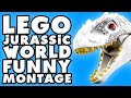 LEGO Jurassic World Funny Montage!