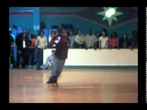 Old Skool Jam Skate Crazy Legs Adult Roller Skate 2005 Haygood VA