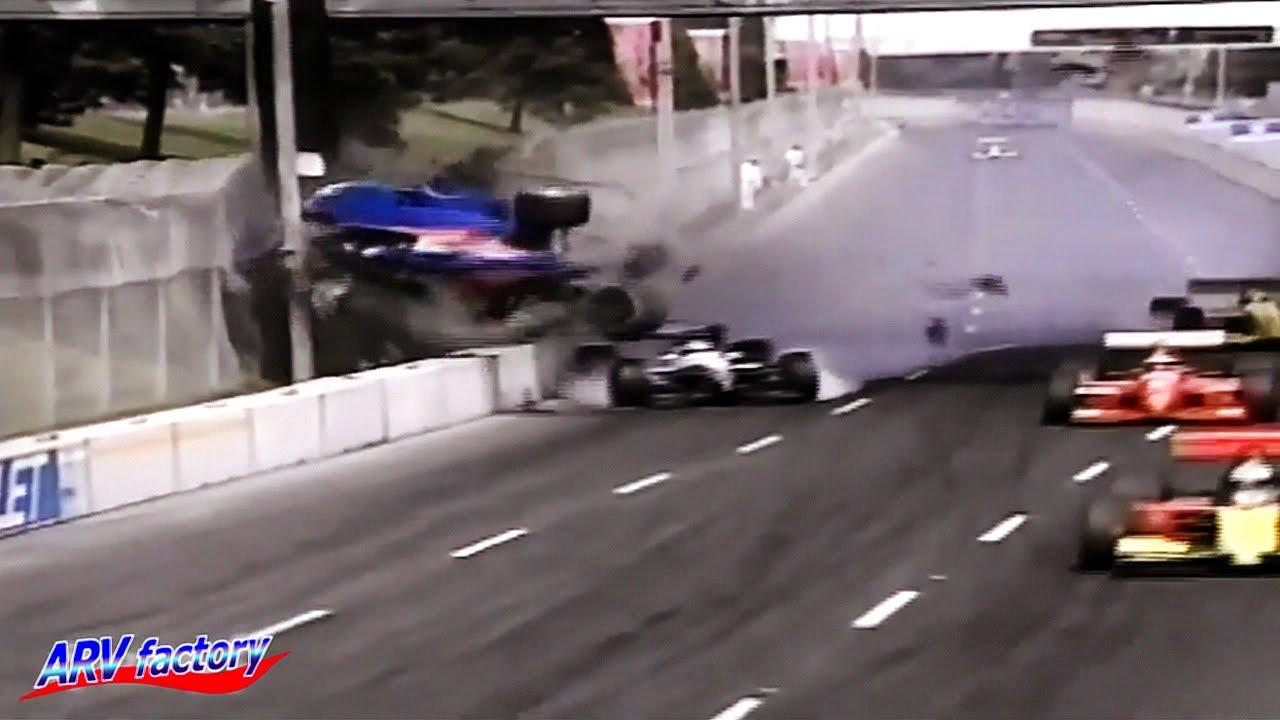 Jeff Krosnoff Fatal Crash 1996 CART Toronto - YouTube