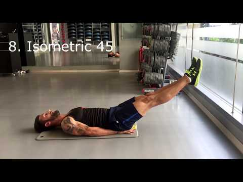 10 Minutes Abs Circuit Workout 2016