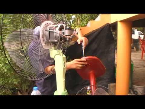 วิธีการซ่อมพัดลม (ปฏิบัติ 2) ตัวเก็บประจุ