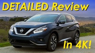 2015 Nissan Murano DETAILED Review and Road Test - In 4K!