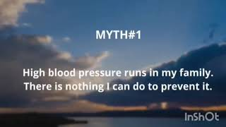 HYPERTENSION... Myths and Facts