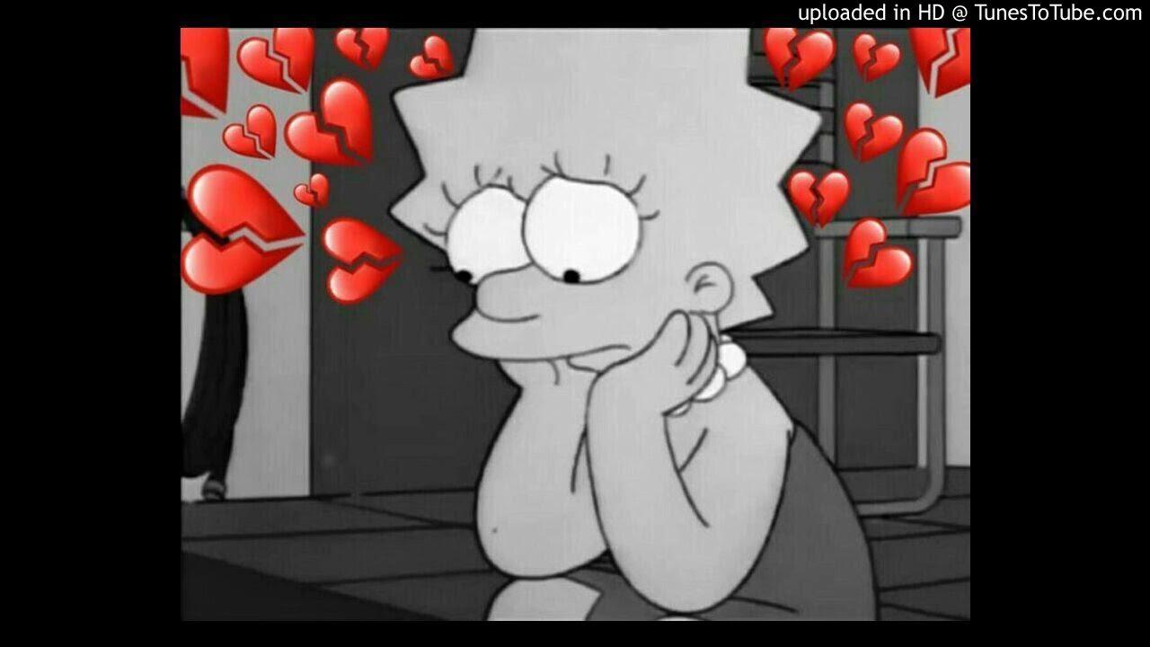 днем картинки симпсоны на аву грустные с черными сердечками передать настроение, что