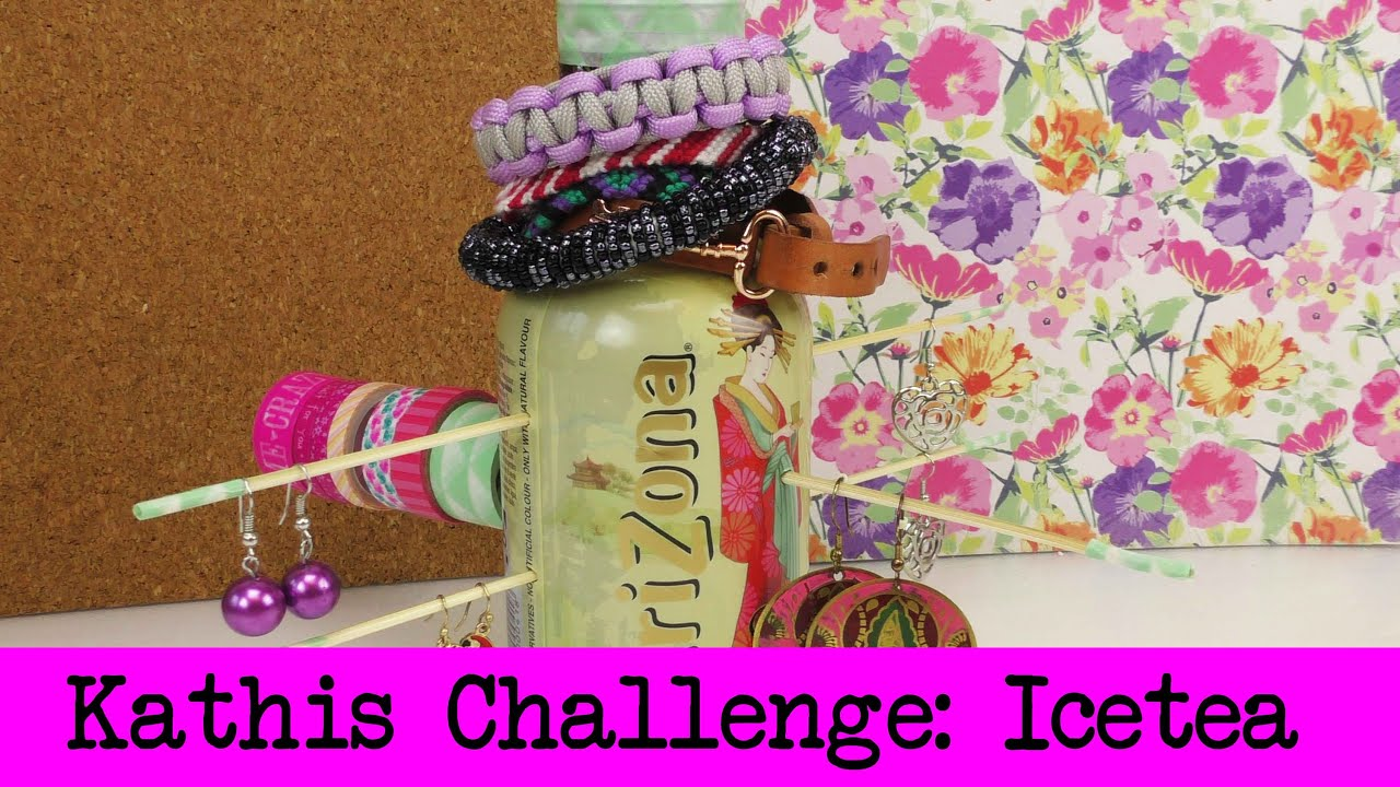 diy inspiration challenge 23 arizona icetea flaschen. Black Bedroom Furniture Sets. Home Design Ideas