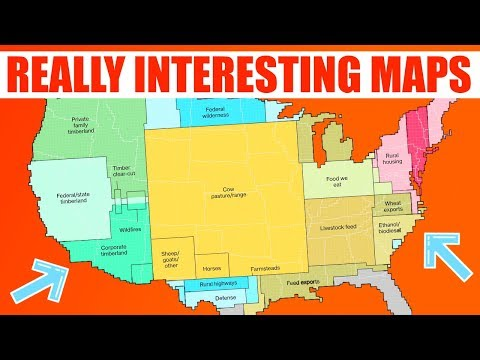Really Interesting Maps You Need To See