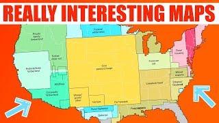 Interesting Nerdy Maps
