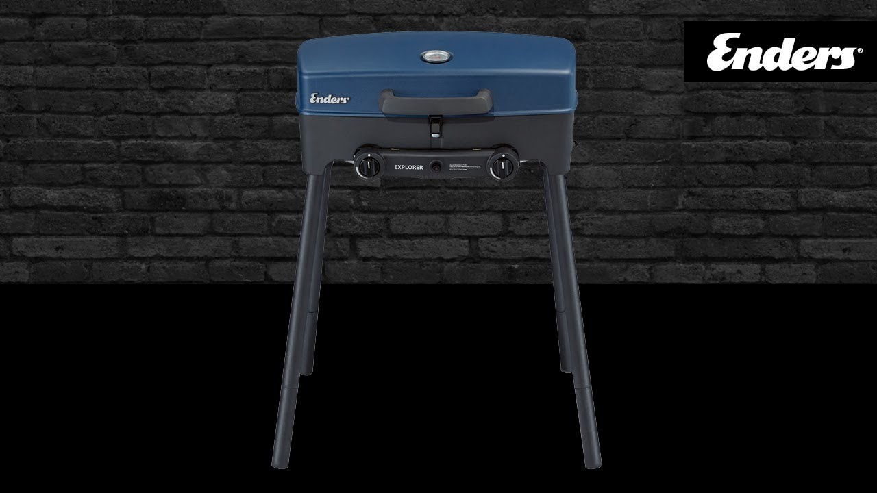 Enders Gasgrill Campinggrill Explorer : Enders explorer mobile outdoor campingküche youtube