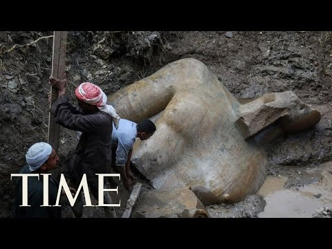 Ancient Statue Believed To Be Of Pharaoh Ramses II Discovered In Cairo Slum | TIME