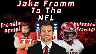 Jake Fromm DECLARES For The NFL Draft | Cade Mays ENTERS Transfer Portal & MORE