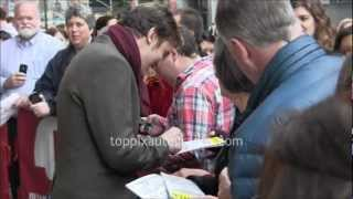 "Dan Stevens - Signing Autographs at ""The Heiress"" Stage Door in NYC"