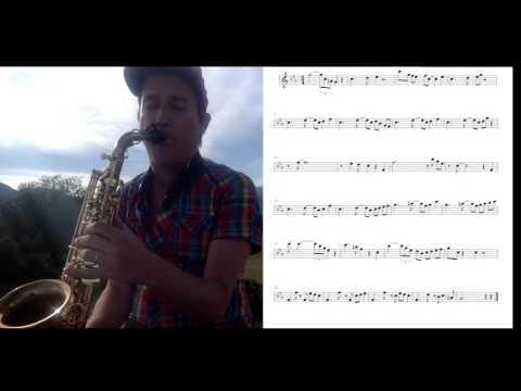 Take Five  Sax Solo - Dave Brubeck. Transcription +  music