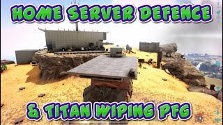 BLACKOUT VS PFG HOME SERVER DEFENCE | XBOX ONE OFFICIAL PVP | ARK SURVIVAL EVOLVED