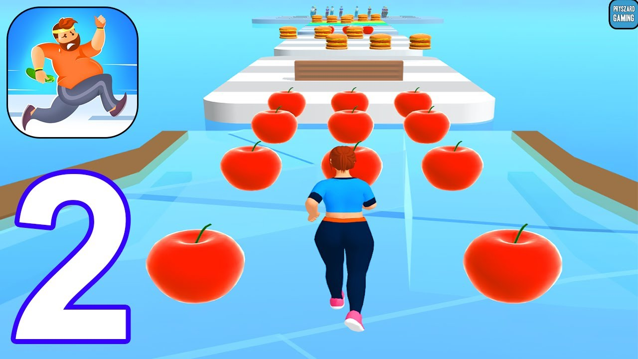 Fit Your Away - 🍔 Gameplay Walkthrough Part 2 All Levels 11-13 Max Level (Android, iOS)