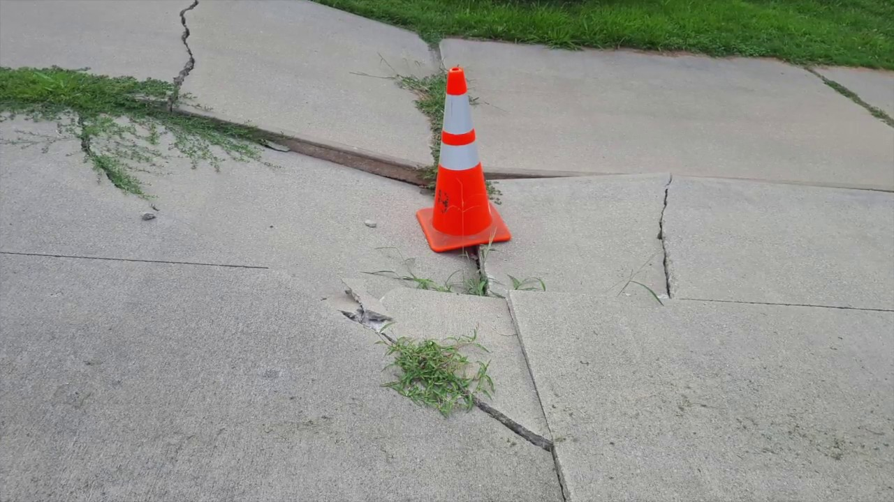 Fixed Sunken Driveway Topworth Concrete