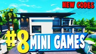 TOP 8 BEST PVP MINI GAMES Creative Maps In Fortnite | Fortnite Mini Game Map CODES (WITH CODES)