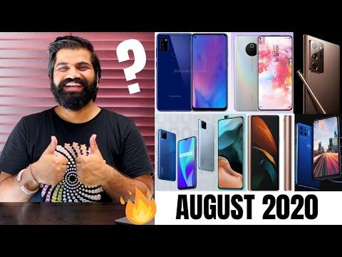 Top Upcoming Smartphones - August 2020🔥🔥🔥