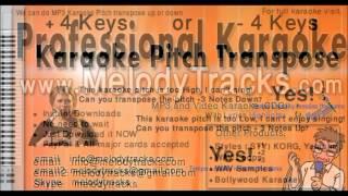 aaj ei dintake Kishore Kumar Karaoke www MelodyTracks com