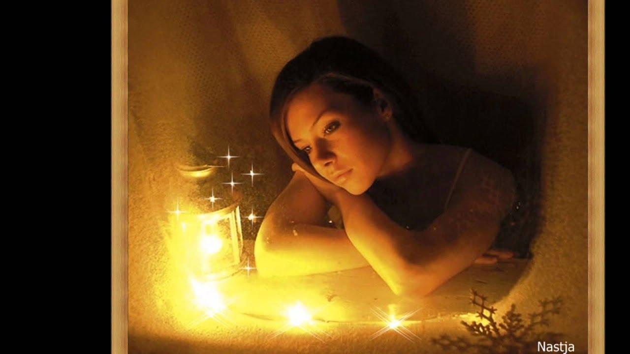 Романтический кайф при свечах возле камина с кэти