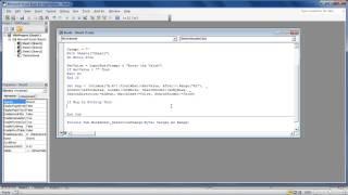 How toSearchin Excel viaVBACode
