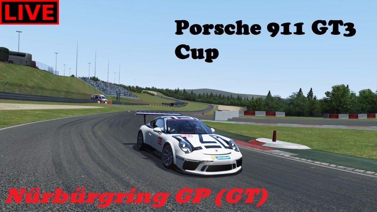 assetto corsa porsche 911 gt3 cup nurburring gp gt race live youtube. Black Bedroom Furniture Sets. Home Design Ideas