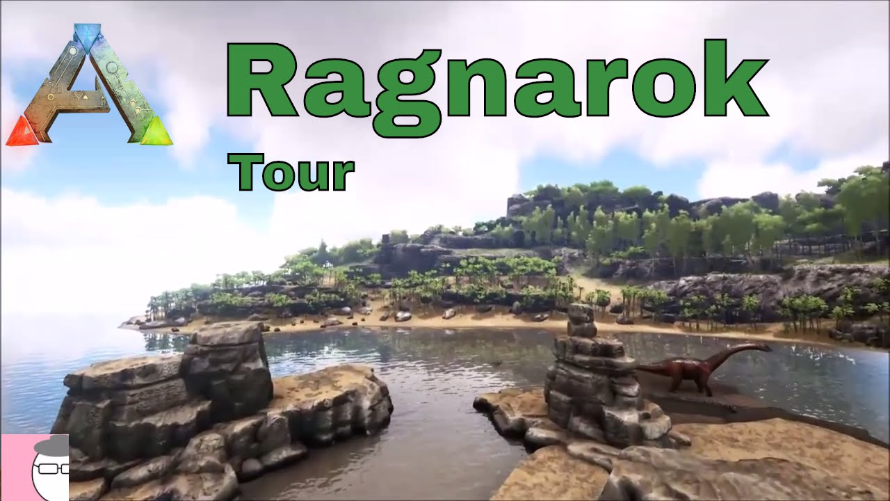 Ark Ragnarok Karte.Ragnarok New Map Tour Ark Survival Evolved Meemaw Thegeekygranny