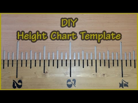 Height Chart | Router TEMPLATE  Build