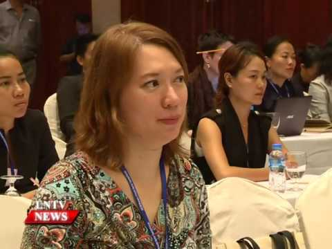 Lao NEWS On LNTV: Asean women tourism professionals forum.14/6/2016