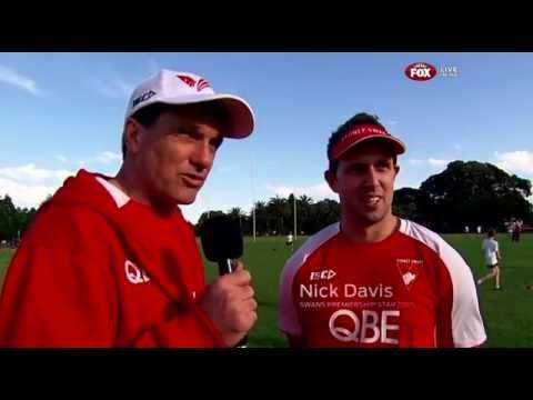 Paul Roos interviews Nick Davis about that Geelong final final quarter