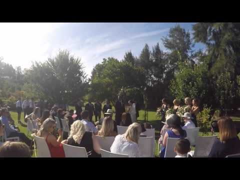 Troy and Gabrielle - Wedding Ceremony