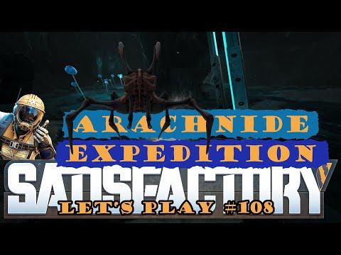 Satisfactory Let's Play 109 - Deutsch - Arachnide Expedition