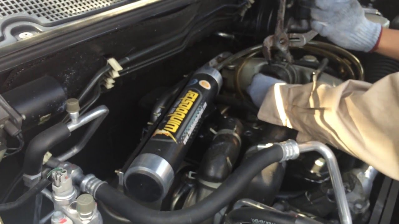 EFG Installation - ISUZU Crosswind / Sportivo (with turbo)
