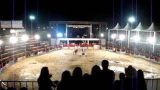 Helicóptero assustando Festa do Peão de Miguelópolis