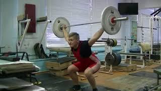 Коркин Данил, 14 лет, вк 77 Рывок 26 кг Новичок