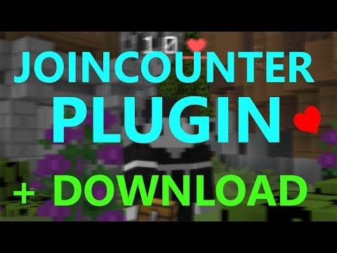JOIN COUNTER PLUGIN + FREE DOWNLOAD + SOURCECODE