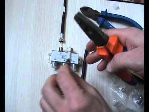 Как подключить 2 телевизора к одному кабелю