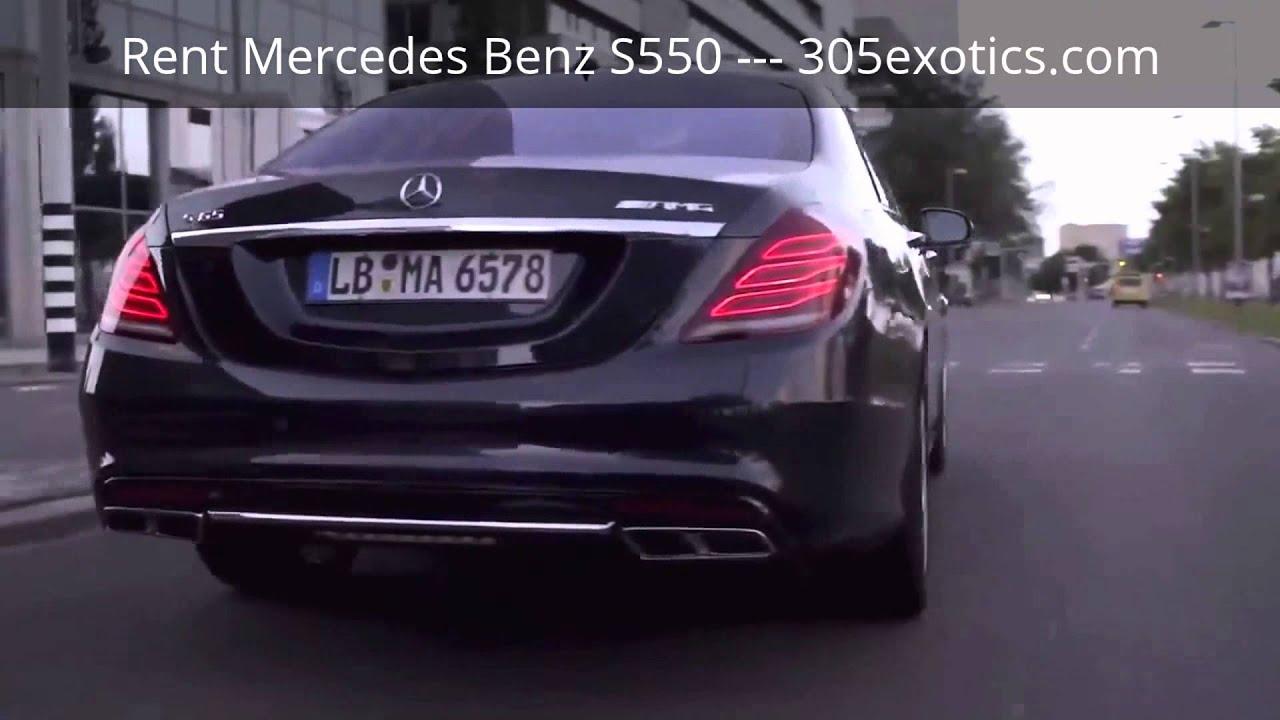 S550 2014 Mercedes Benz S Class Rental Miami Beach Airport South