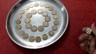 Kitty party game one minute (पाँच का दम Gold coin के संग)interesting, easy,simple, lucky Kitty game