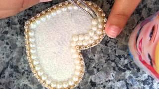Como fazer um aplique de pérola para tiaras