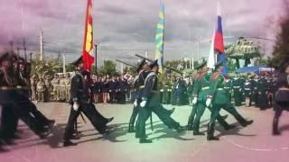 Принятие присяги членов военно патриотического общества ЮНАРМИЯ г Воронеж