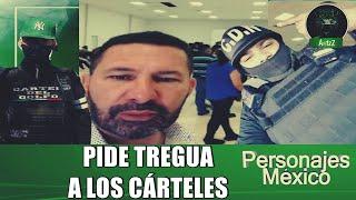 Alcalde de Miguel Alemán, Tamaulipas, pide tregua a los cárteles