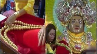 Sợi dây chuyền khủng 162 lượng vàng nặng trĩu của bà chúa xứ, lần đầu tiên nhìn thấy