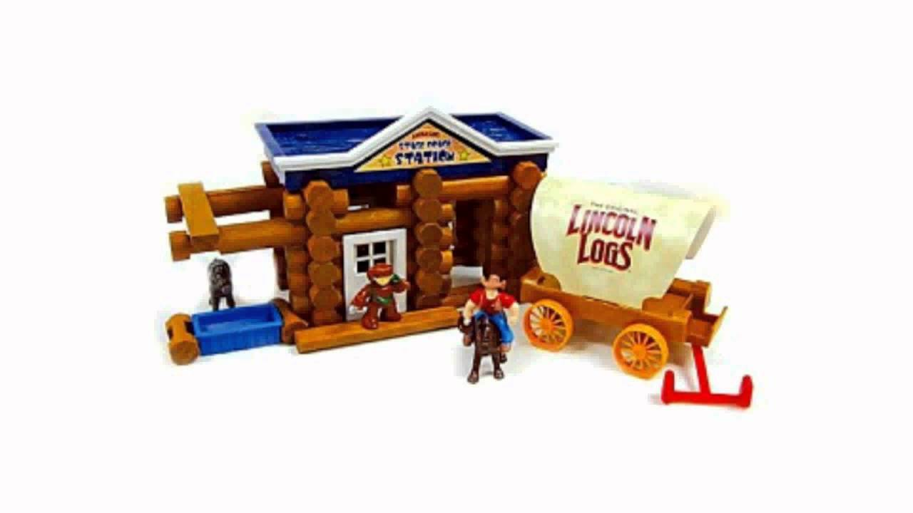 Lincoln Logs Stage Coach Station Youtube