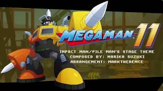 [Mega Man 11] (8-bit Style) Impact Man/Pile Man's Stage Theme