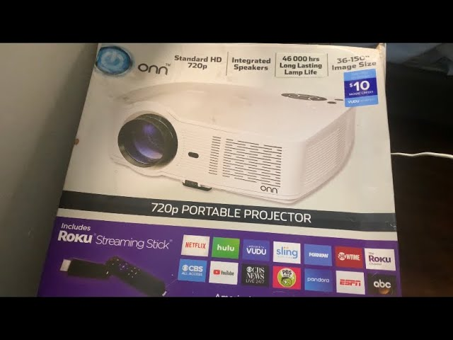 Projector onn roku How to