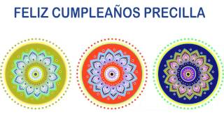 Precilla   Indian Designs - Happy Birthday