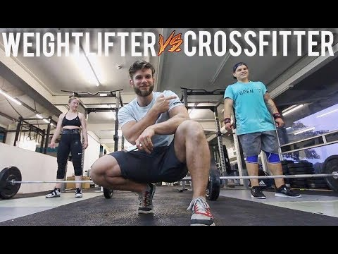 WEIGHTLIFTER vs CROSSFITTER: 30 CLEAN AND JERKS FOR TIME (Grace)