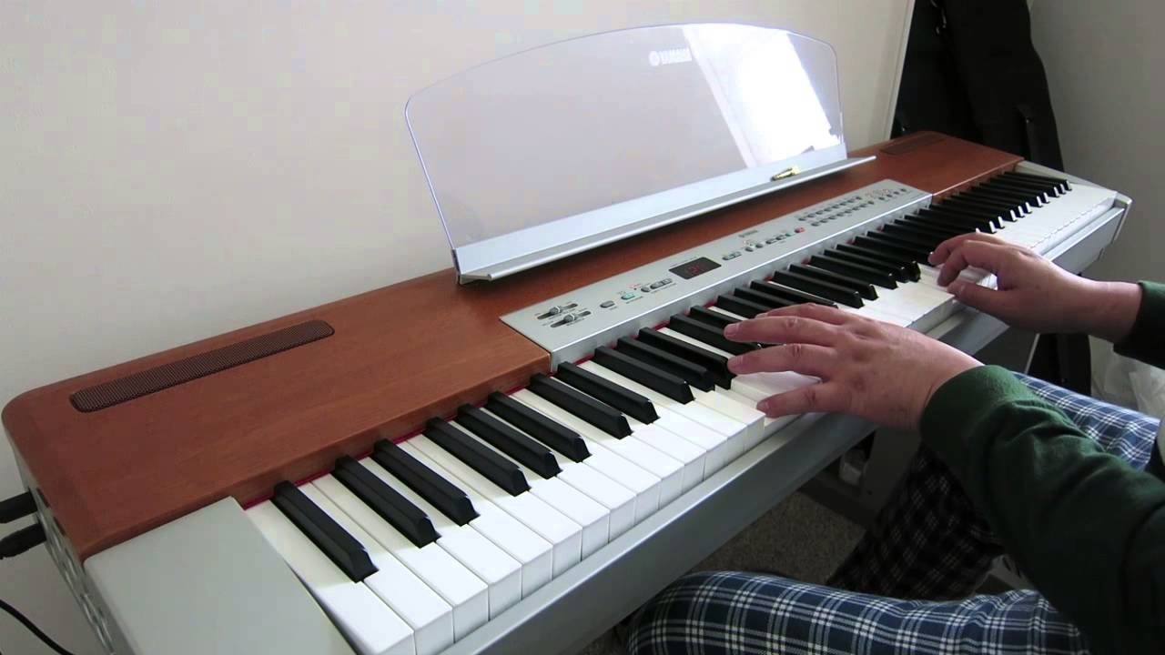 piano practice on yamaha p 120 youtube