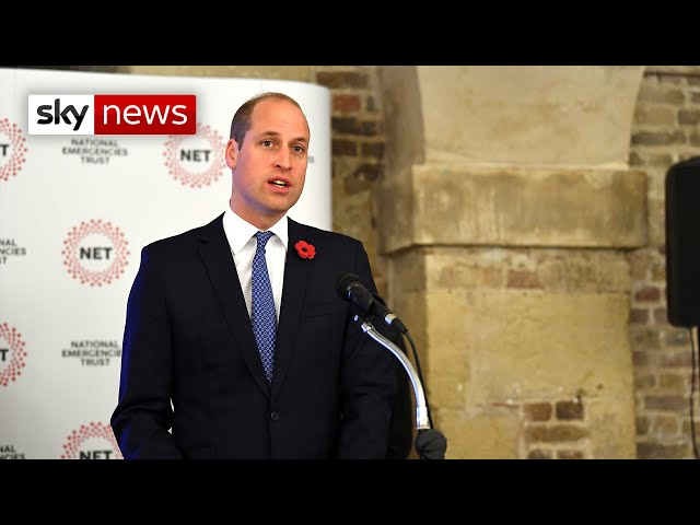 Prince William: Grenfell Tower fire support 'wasn't well targeted'