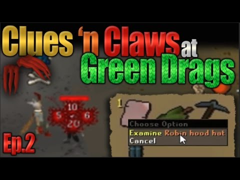 D Claw Rushing Green Dragon Killers ( Little Did They Know I was Doing Hard Clues )